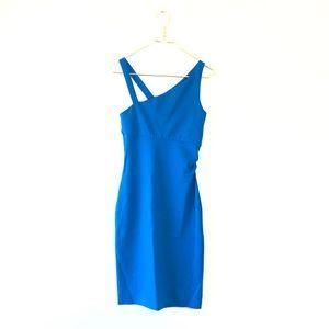 Diane Von Furstenberg Dresses - DVF Blue tank bodycon blue straps dress 4 Nomie